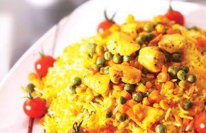 پلو مرغ با سبزیجات-غذای ایرانی-وبلاگ هفت مغز-فروشگاه اینترنتی آجیل هفت مغز