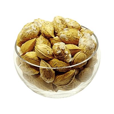 بادام منقا با پوست نمکی هفت مغز-فروش بادام منقا با پوست نمکی-فروشگاه اینترنتی آجیل و خشکبار هفت مغز