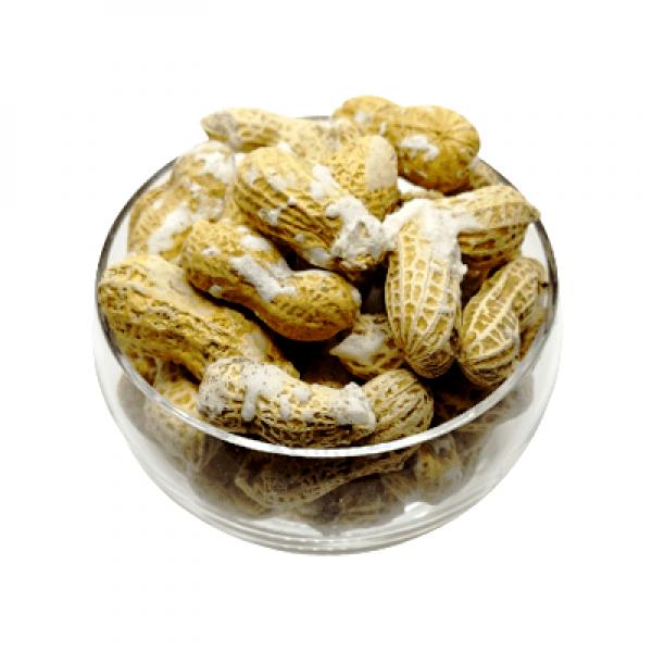 بادام زمینی با پوست شور هفت مغز-خرید بادام زمینی آستانه- فروشگاه اینترنتی آجیل و خشکبار هفت مغز