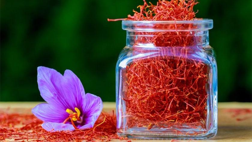 مزایای مصرف زعفران