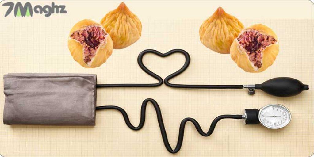 انجیرخشک مناسب برای تنظیم فشار خون