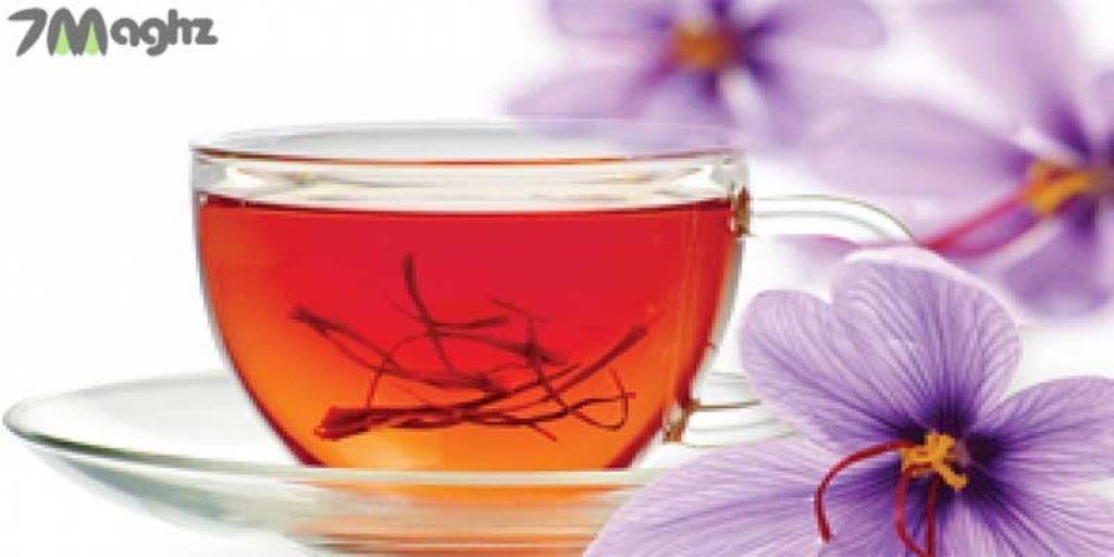 چای و زعفران