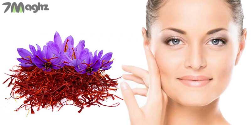 خواص زعفران برای پوست صورت و درمان مشکلات مختلف