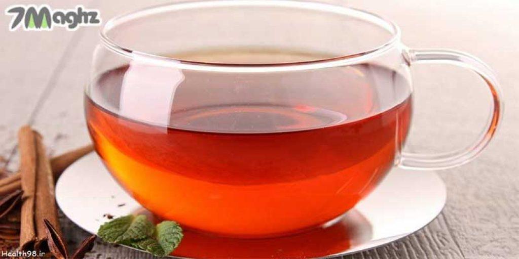 مصرف چای و زعفران