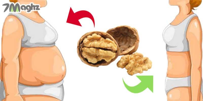 تاثیر کالری گردو بر کاهش و افزایش وزن