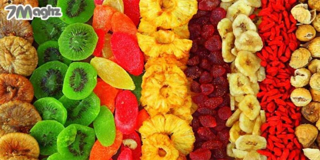 انواع میوه خشک