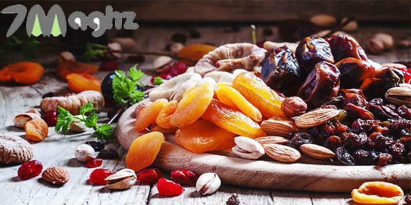 چه میوه هایی را میتوان خشک کرد