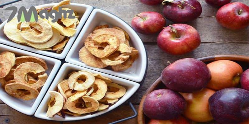 خشک کردن سیب برای دمنوش