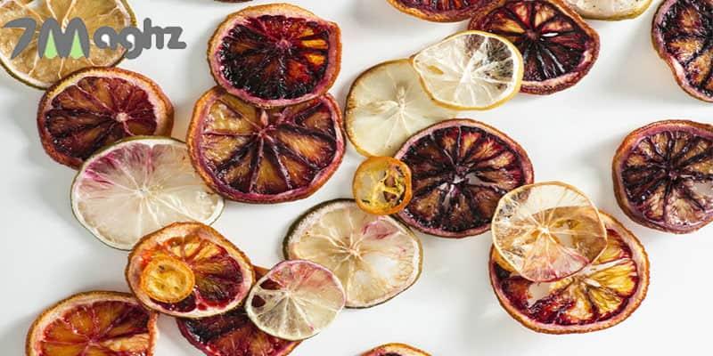 نحوه خشک کردن پرتقال روی بخاری