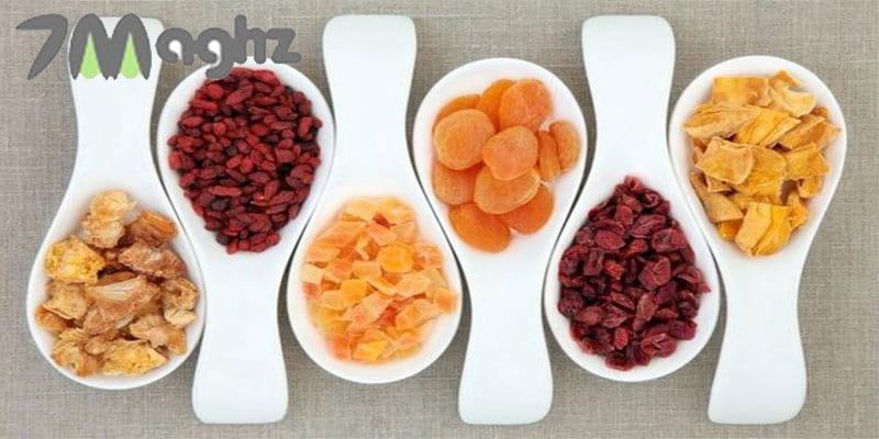 خواص میوه خشک برای بارداری