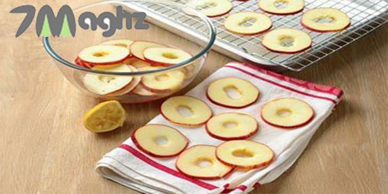 طرز خشک کردن میوه در فر