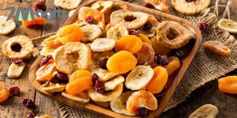 نگهداری میوه خشک در یخچال