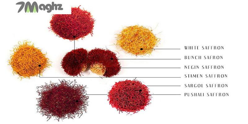 انواع و اقسام زعفران