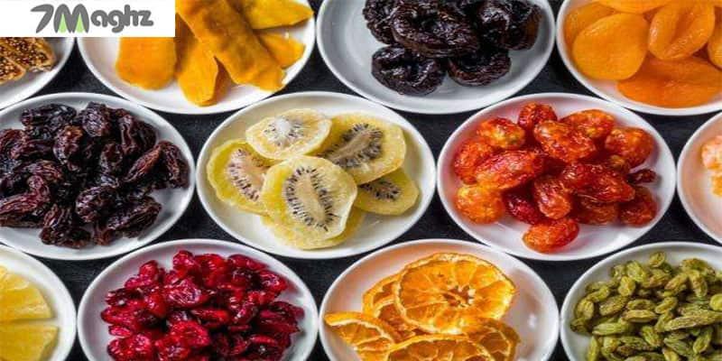 کالری انواع میوه خشک